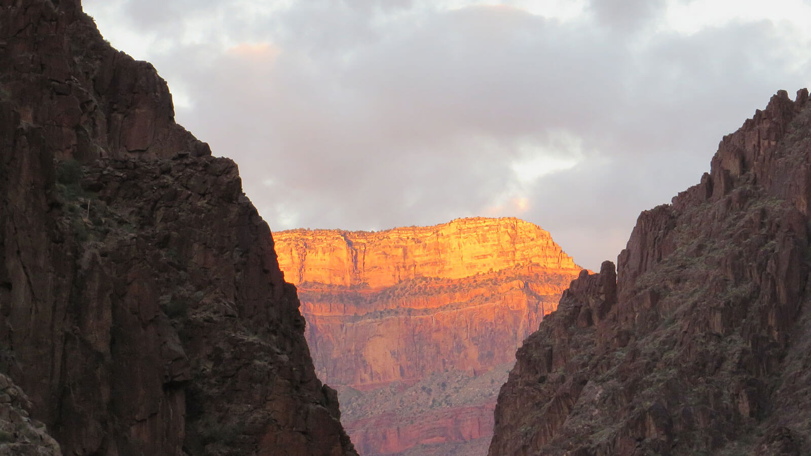 Mountain Range Sunset